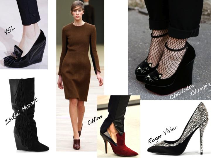 C line the purple velvet - Zapatos collage ...