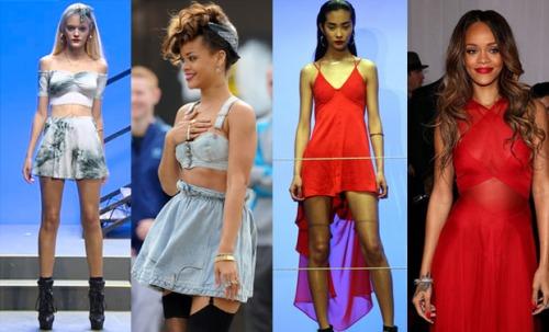 Rihanna Style River Island