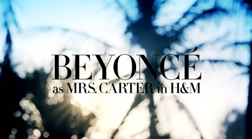 beyonce-MRS CARTER IN HM